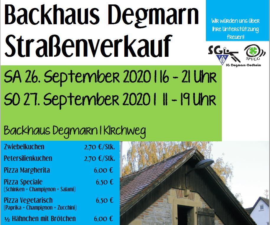 Backhaus Strassenverkauf